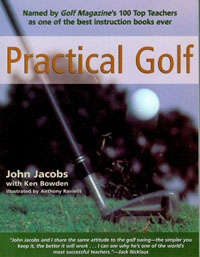 Practical Golf by John Jacobs - Golf Instruction Book Image