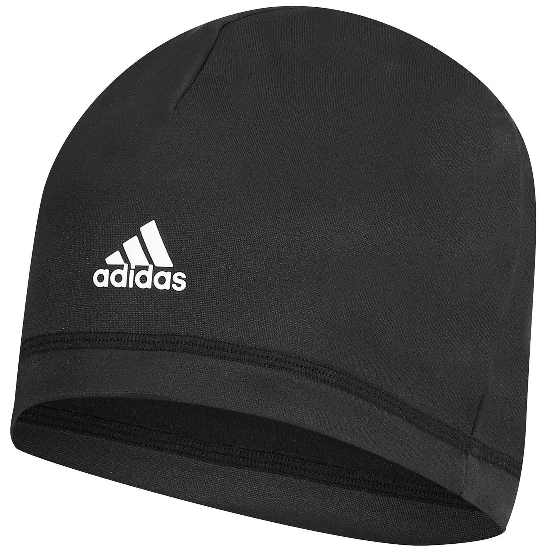 Adidas Mens Climawarm Lightweight Microfleece Crest Golf Beanie Hats ... b8813534cb07