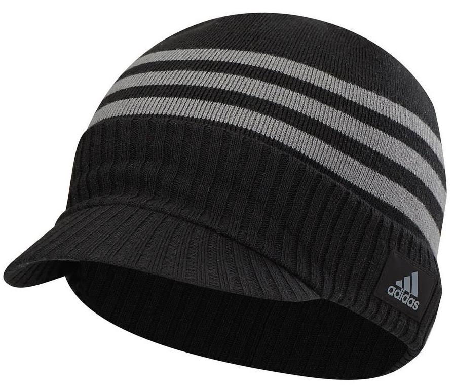 Adidas Mens Climawarm Lightweight Visor Golf Beanie Hats 7d29b8274a62