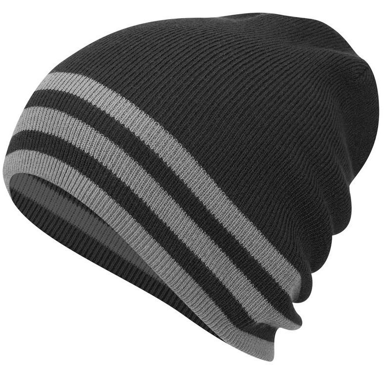 bf59d7783994c Adidas Mens Climawarm Slouch Lightweight Reverse Golf Beanie Hats