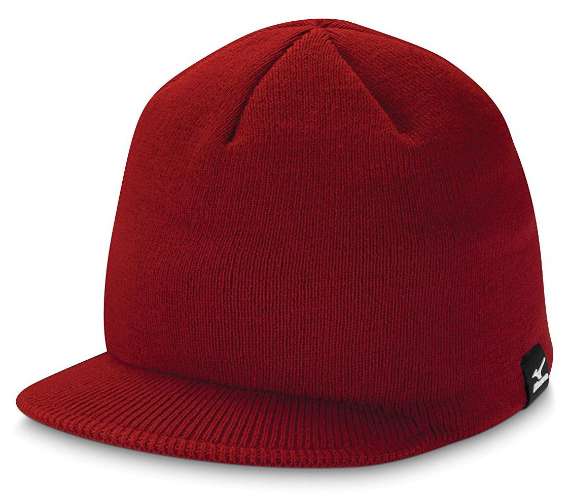 Mizuno Mens Peak Beanie Thermal Golf Hats a471bd555536