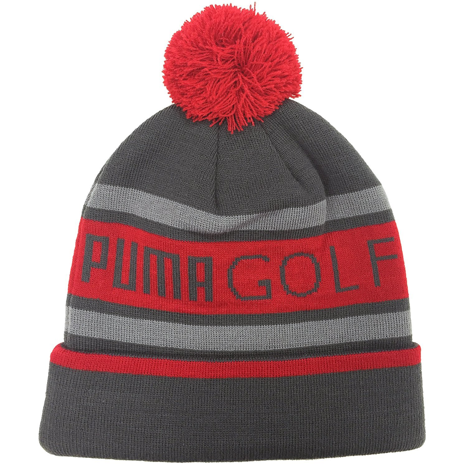 860a7e7c2ee14 Puma Mens Pom Golf Beanie Bobble Hats