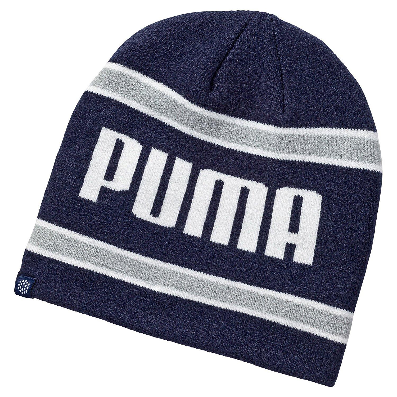 Puma Mens Stripe Golf Winter Beanie Hats 2044eb0f8c4