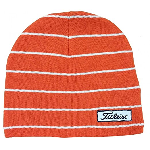 Titleist Mens Striped Assorted Golf Winter Beanie Hats 8a8187ced0f