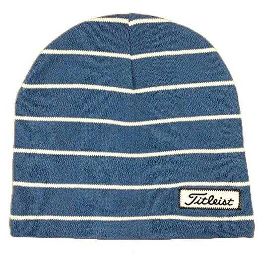 5c60e509f9156 Titleist Mens Striped Assorted Golf Winter Beanie Hats
