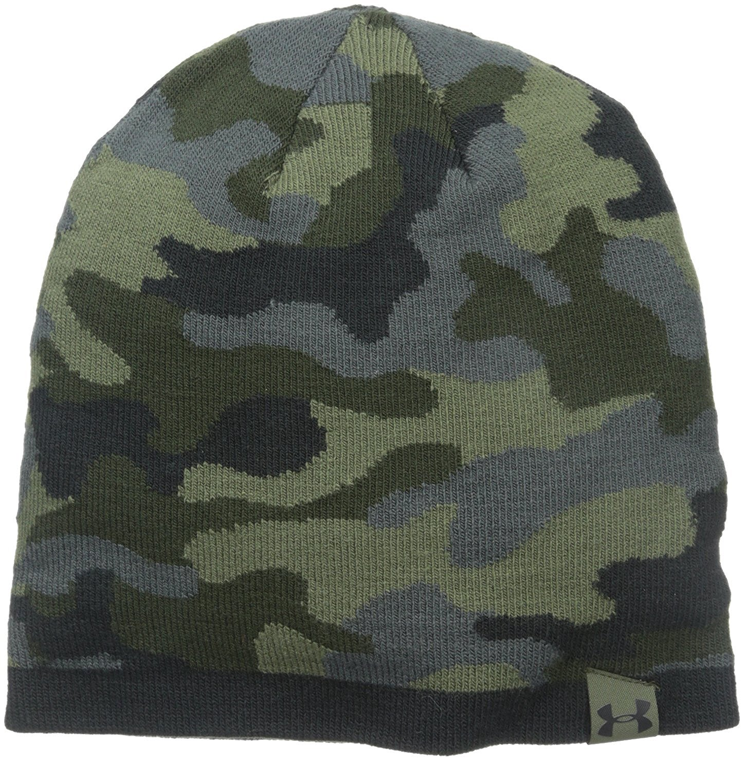 e4719c5bcfd Under Armour Mens 2-Way Camo Golf Beanies