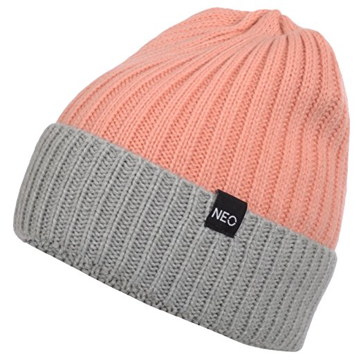 bd98434cd99 Adidas Womens NEO Knitted Two Tone Golf Beanie Hats