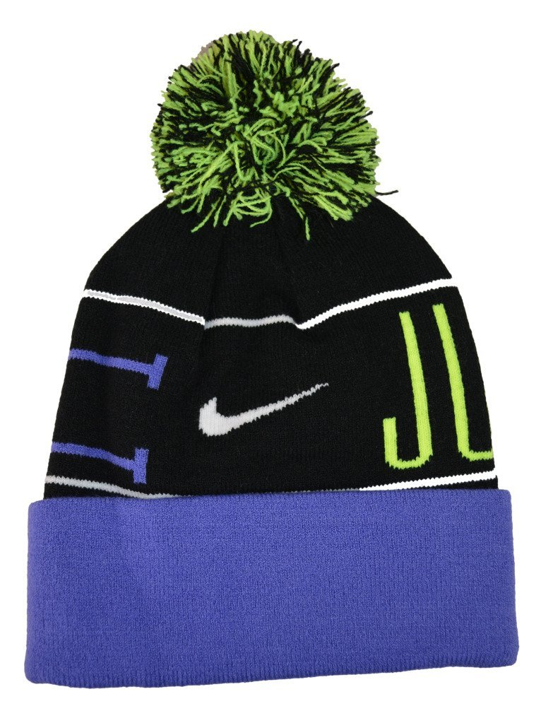 Nike Womens Just Do It Pom Golf Beanie Hats e2741c0a957
