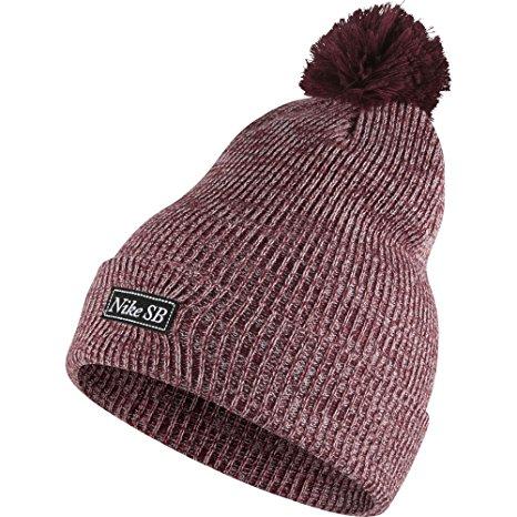 Nike Womens SB 2-in-1 Pom Knit Golf Beanie Hats 8934c355bac2