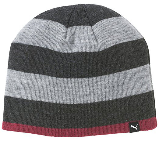 e823827fc7748 Puma Womens Striped Knitted Golf Beanie Hats!