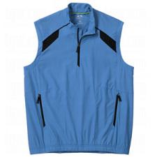 Adidas Mens ClimaProof Half Zip Wind Vests
