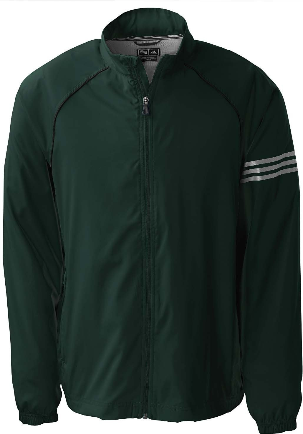 Adidas Mens A69 ClimaProof 3 Stripes Full Zip Jackets