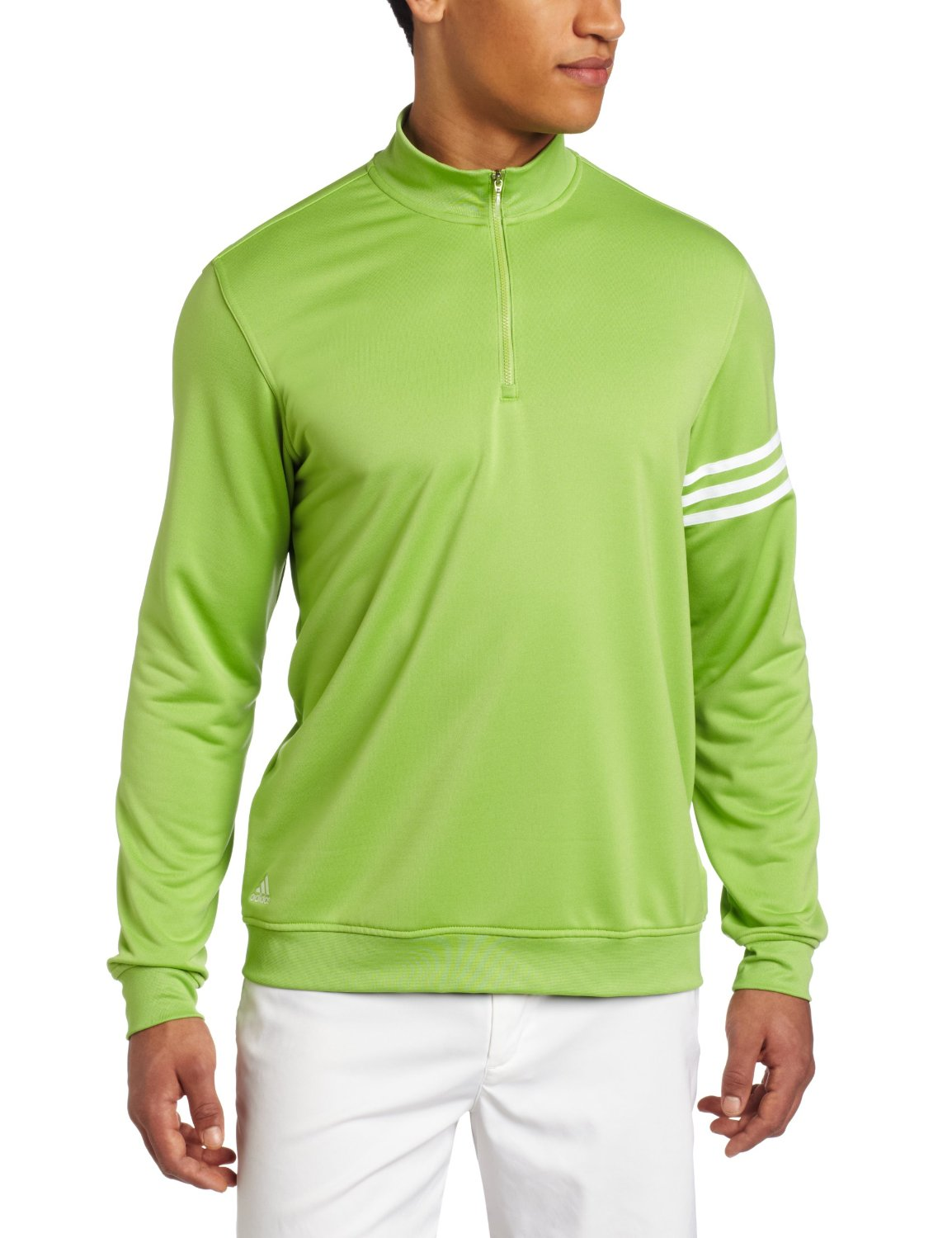Mens Adidas Climalite 3-Stripes Golf Pullovers