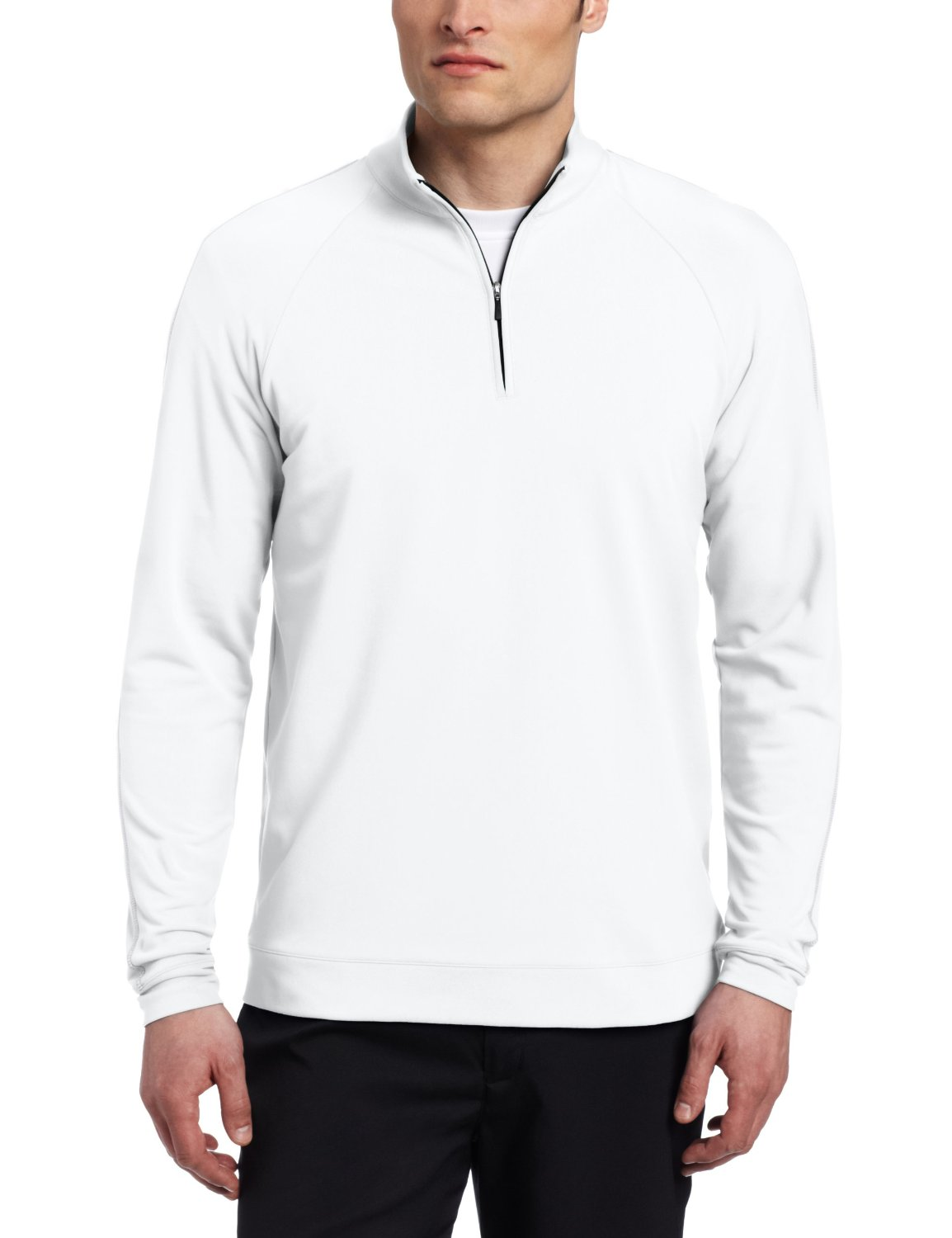 adidas climalite contrast stitch pullover