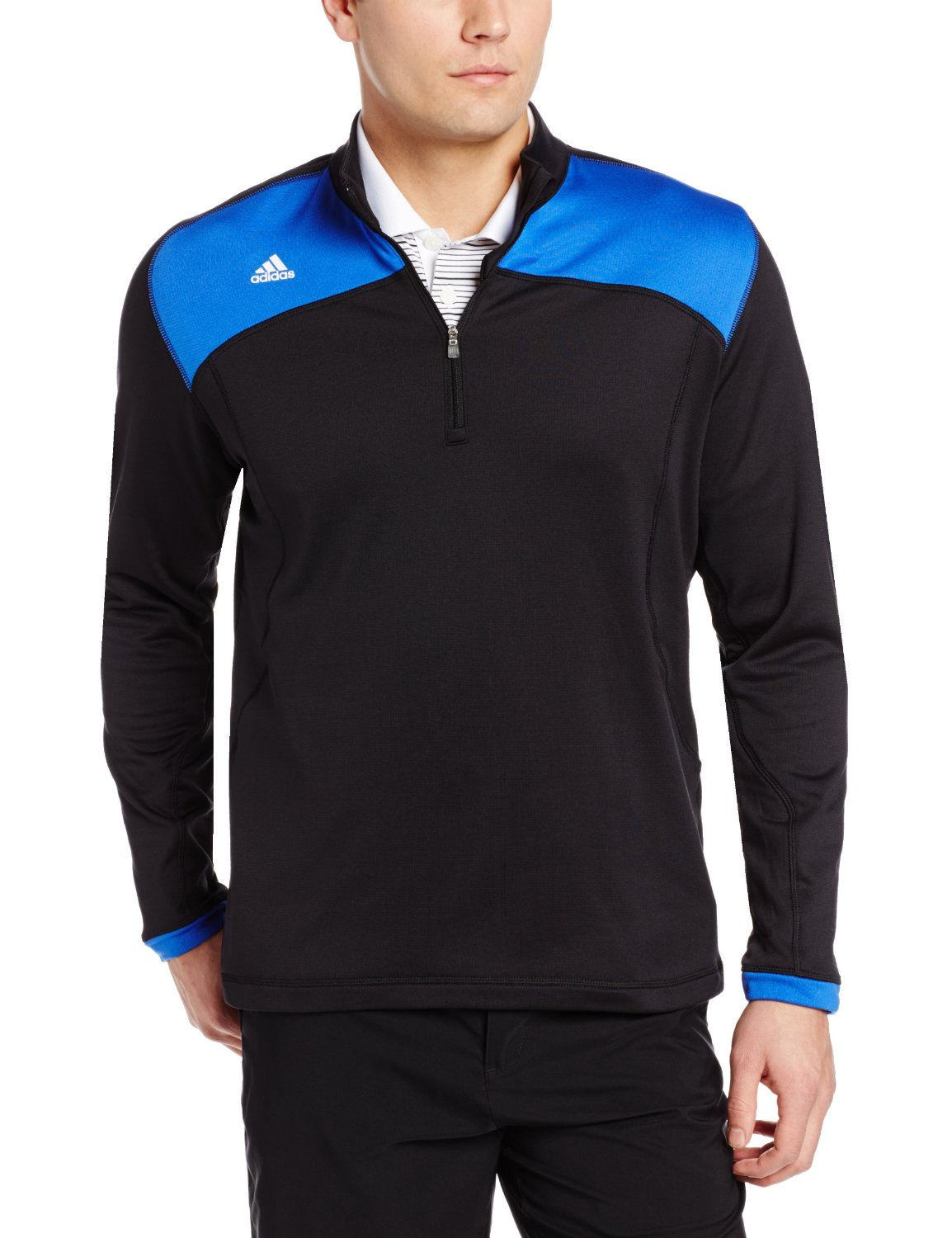 Mens Adidas Climawarm+ Half Zip Golf Pullovers