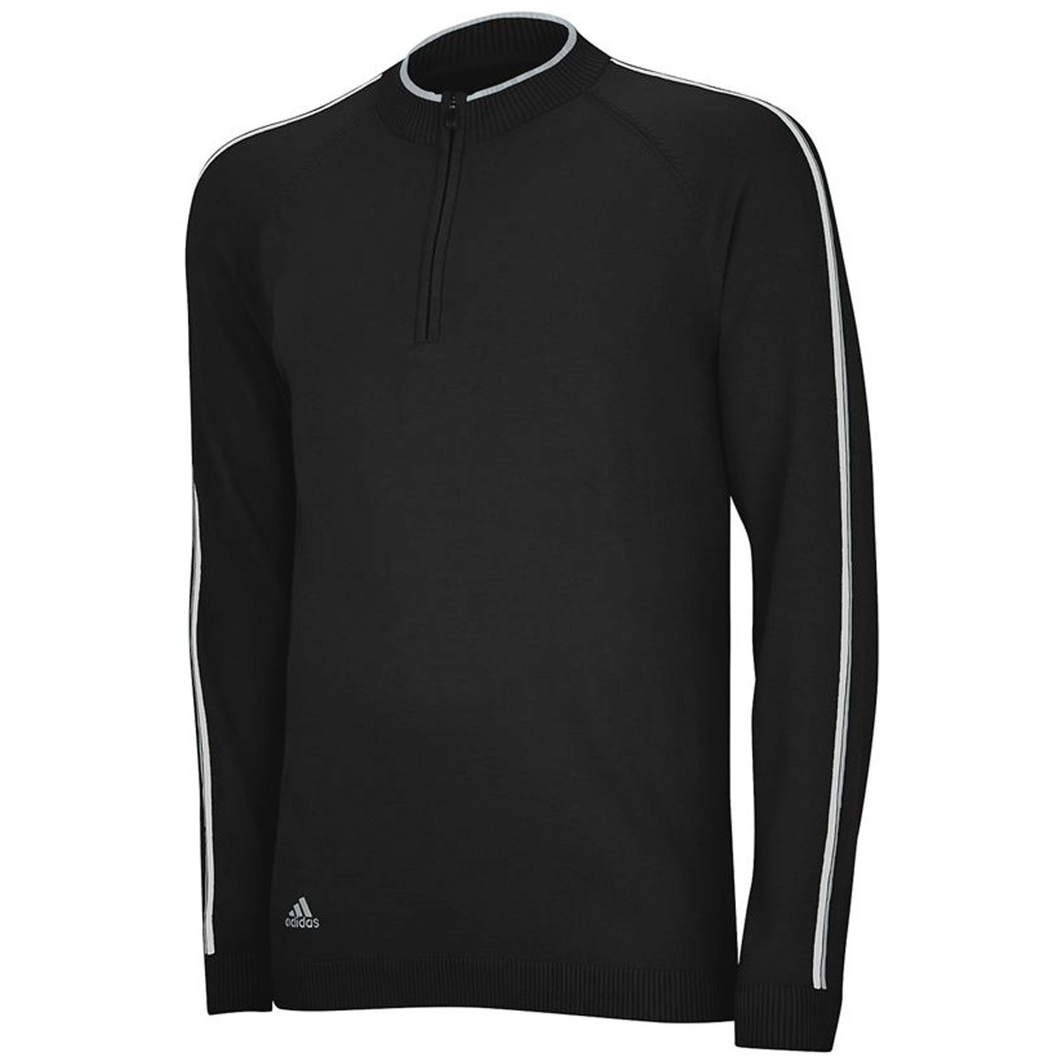 Mens Adidas Slub Performance Half Zip Golf Pullovers