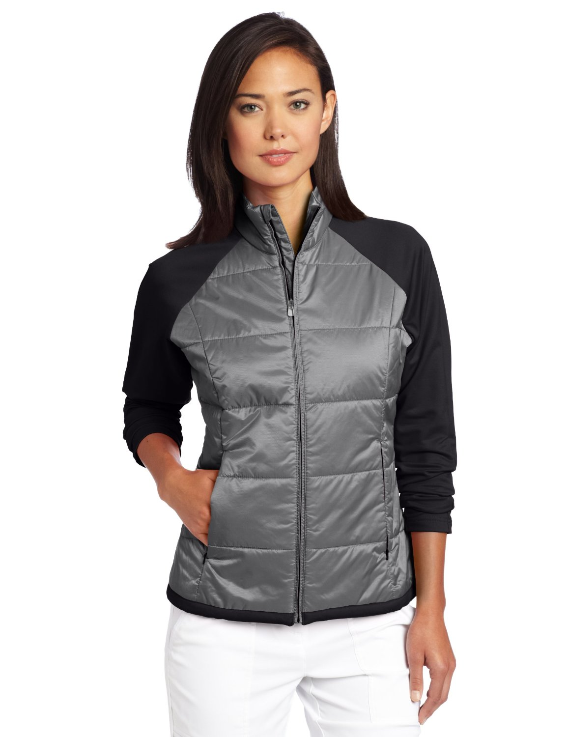 Womens Adidas Climaproof Padded Golf Jackets