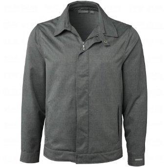 Mens Ashworth Ez-Tec2 Melange Herringbone Microfibre Jackets