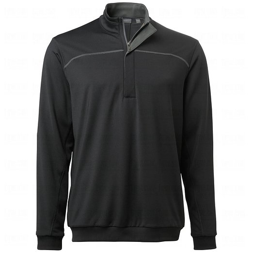 Mens Ashworth Ez-Sof Lined Half Zip Golf Wind Pullovers