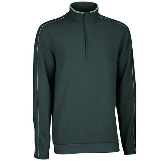 Mens Ashworth French Rib Solid Golf Pullovers