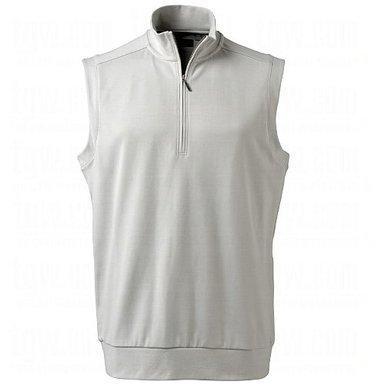 Mens Ashworth Mesh Back Fleece Golf Vests