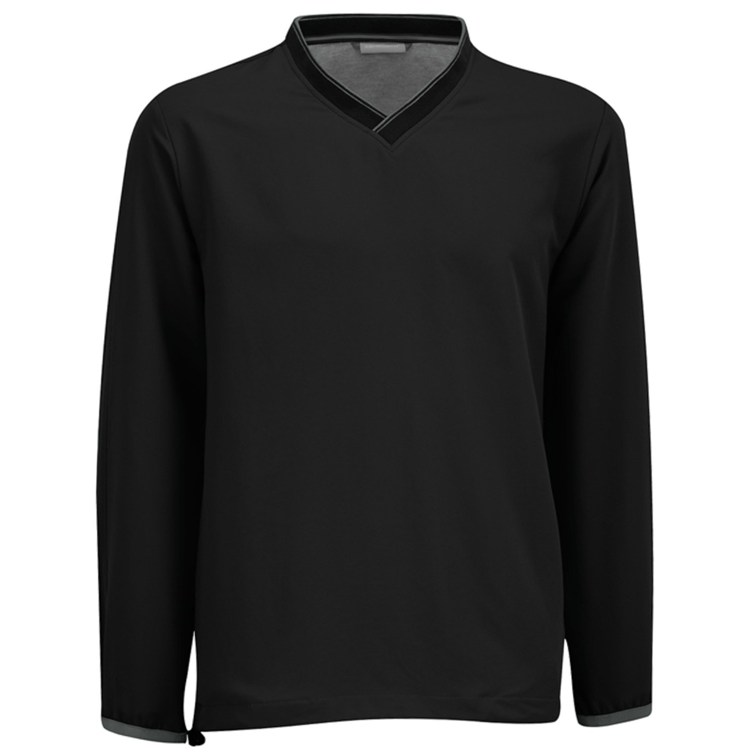 Mens Ashworth Performance Solid V-Neck Golf Windshirts