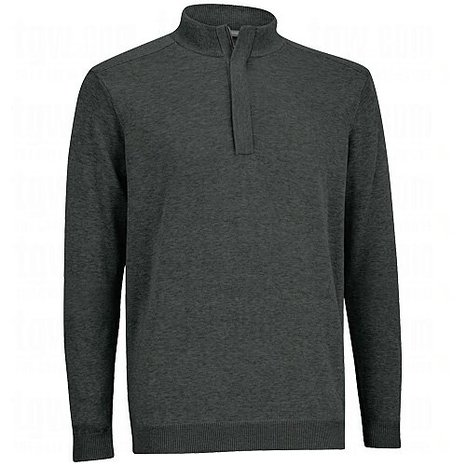 Mens Ashworth Pima Half Zip Golf Wind Sweaters