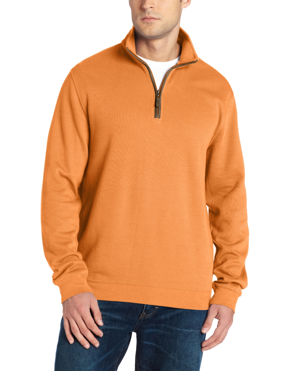 Mens Greg Norman Collection Contemporary Mock Pullovers