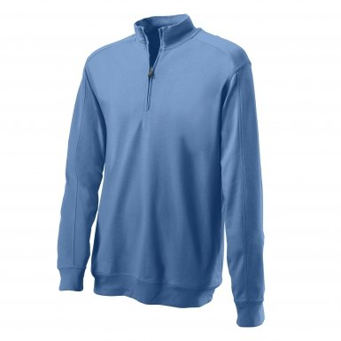 Mens Greg Norman Natural Performance Pimalux Golf Pullovers