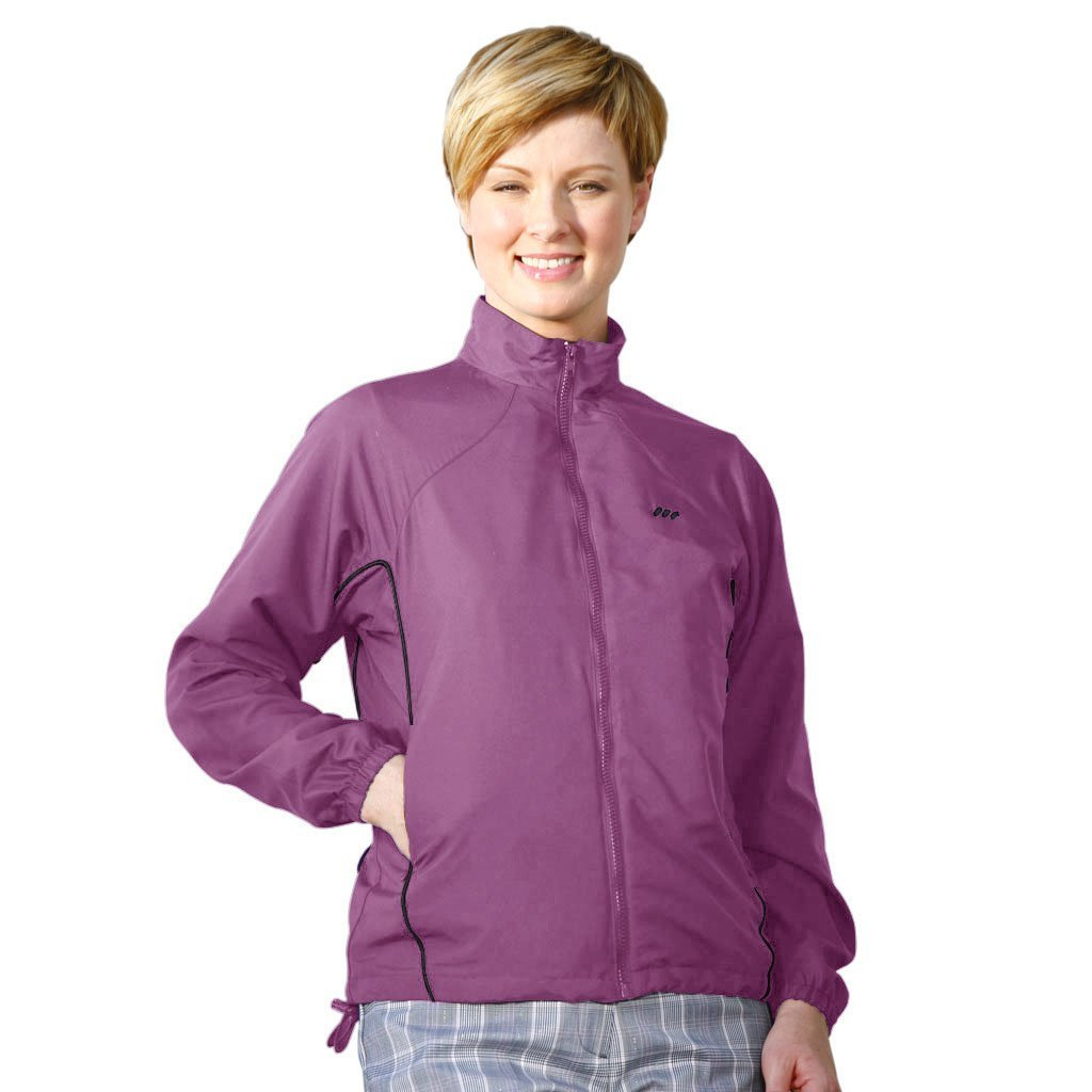 Womens Monterey Club Lightweight Zip Front Golf Jackets