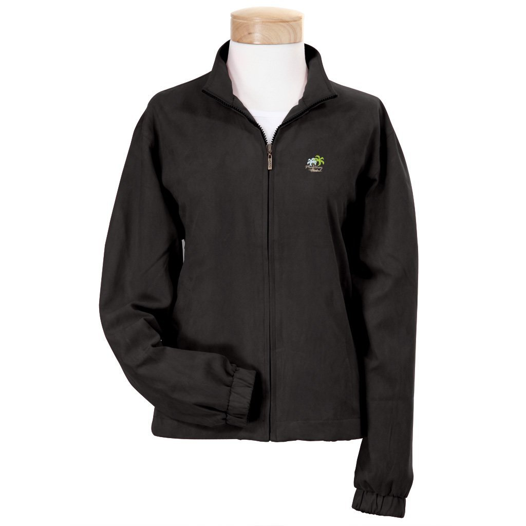 Womens Monterey Club Vegan Suede Soft Hand Feel Golf Jackets