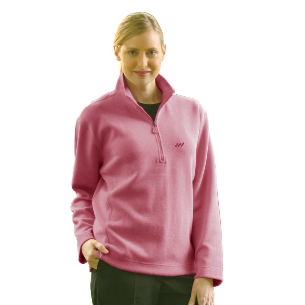 Womens Monterey Club French Rib Golf Sweater Pullovers