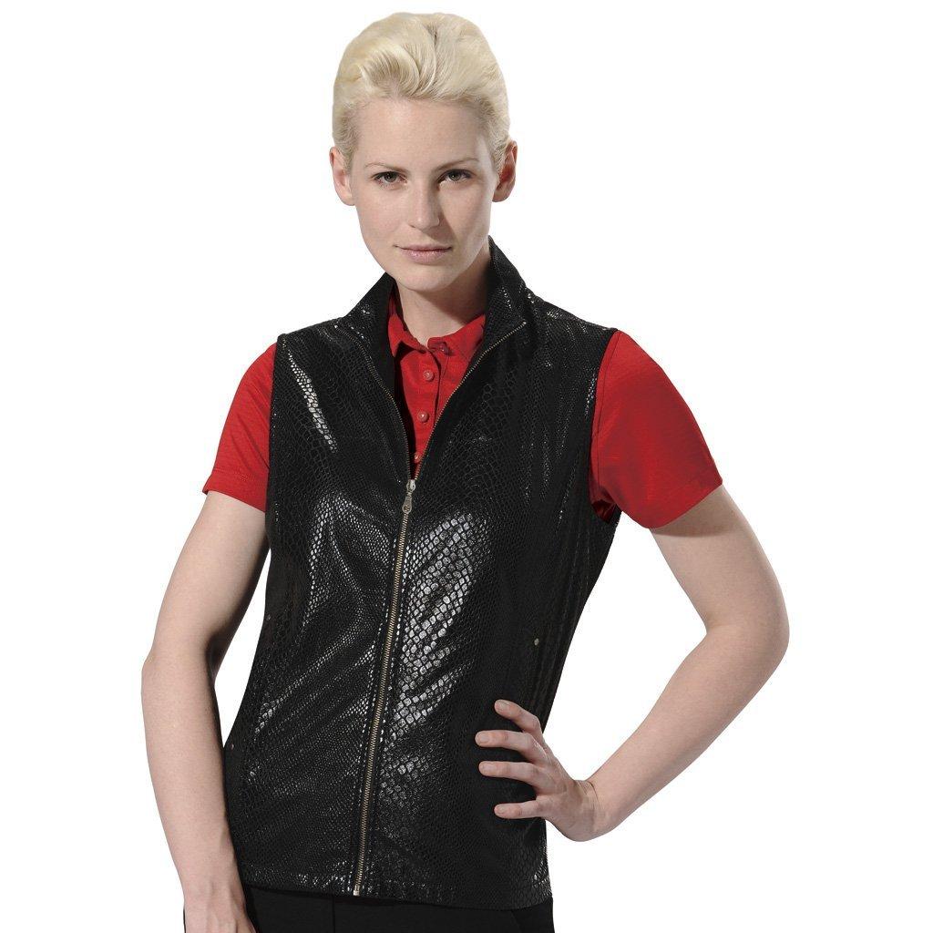 Womens Monterey Club Snake Skin Embossed Print Golf Vests