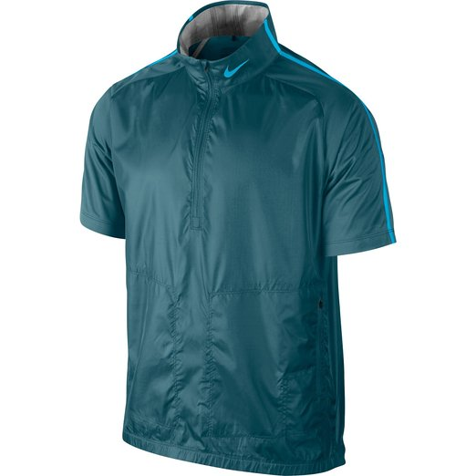 Mens Nike Half Zip Golf Wind Tops
