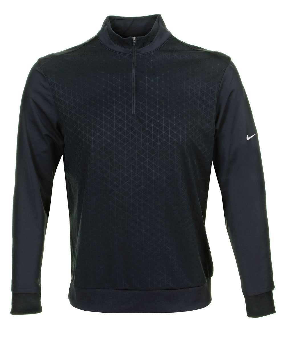Mens Nike Sphere Half Zip Golf Cover-Ups