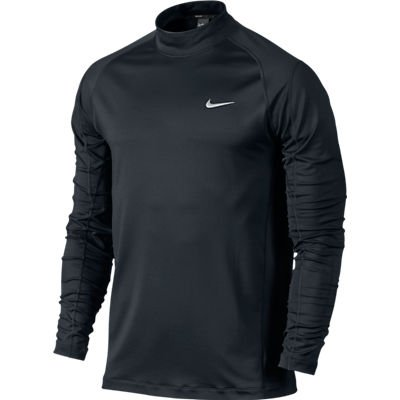 Mens Nike TW Dri-Fit Mock Golf Cover-Ups