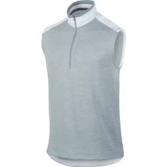 Mens Nike Half Zip Cover-Up Golf Vests