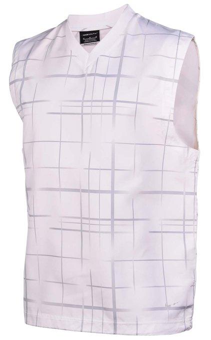 Mens Nike Sleeveless Printed V-Neck Wing Golf Vests