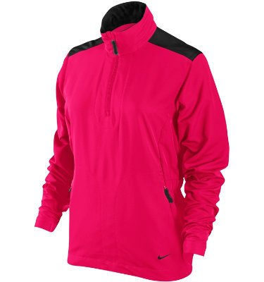 Womens Nike New Windproof Half Zip Golf Jackets