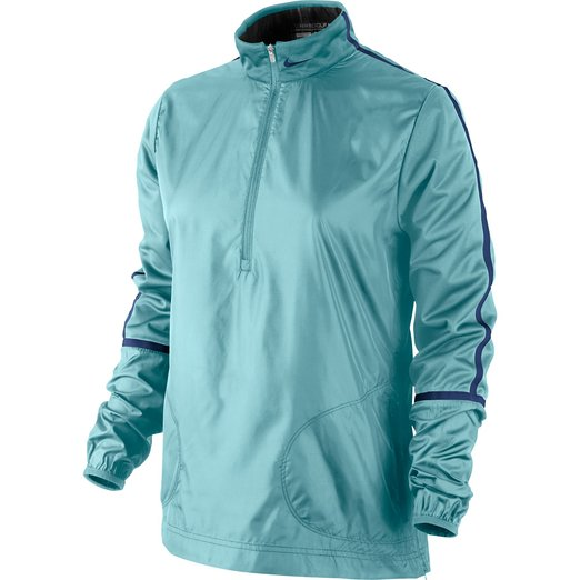 Womens Nike Windproof Half Zip Golf Jackets