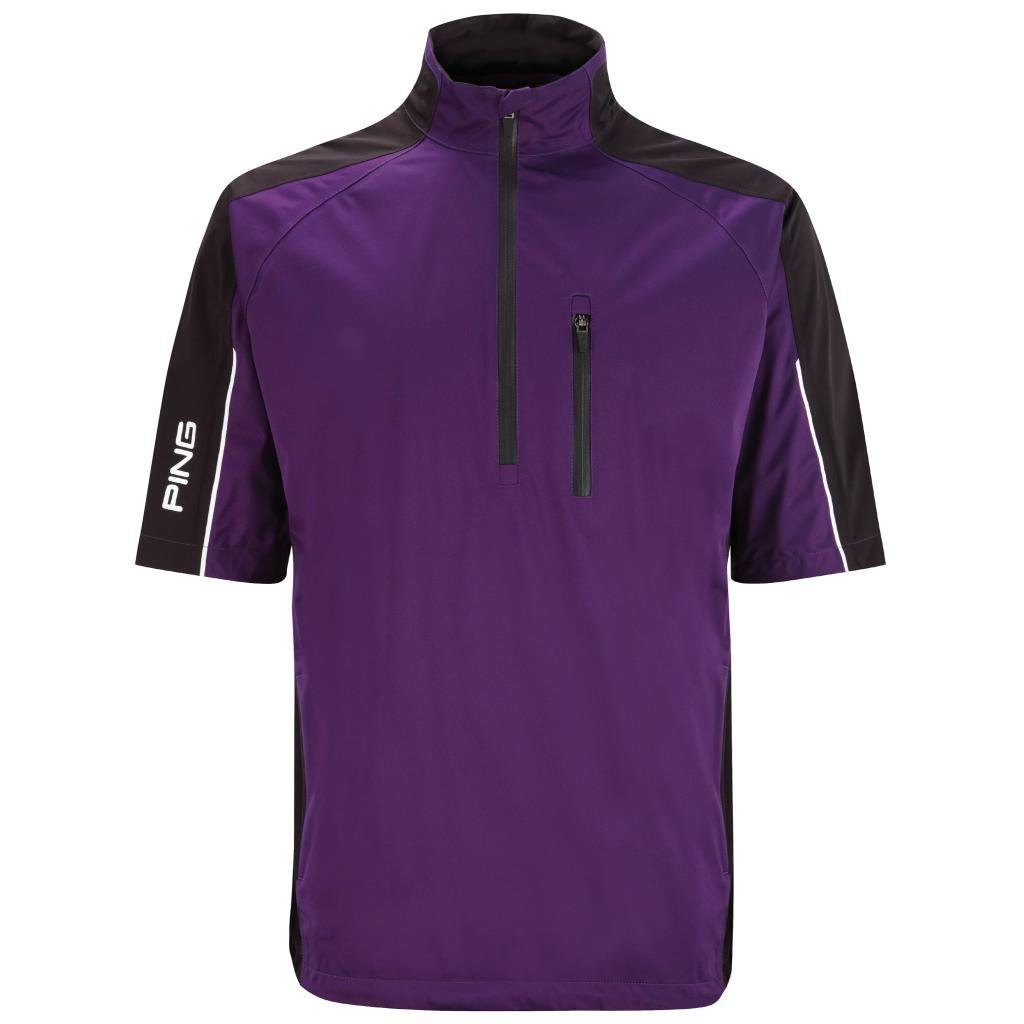 Mens Ping Challenge Waterproof Short Sleeve Golf Jackets
