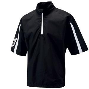 Mens Ping Hydro Waterproof Short Sleeve Golf Jackets