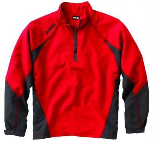 Mens Ping Recovery Half Zip Pullover Golf Jackets