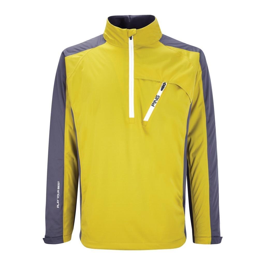 Mens Ping Topspin Waterproof Half Zip Golf Jackets