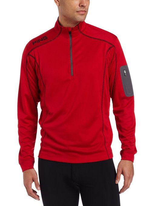 Mens Ping Ranger Long Sleeve Golf Pullovers