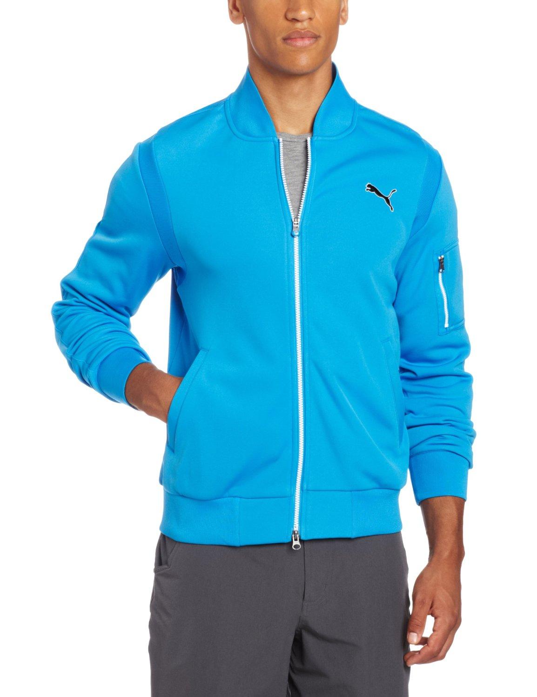 96a6521862197 Puma Mens New Wave Knit Golf Jackets