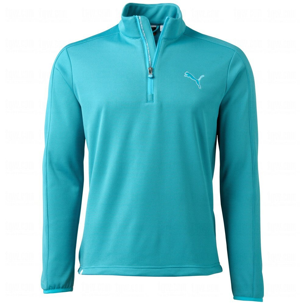 Puma mens color block v neck golf sweaters for Mens puma golf shirts
