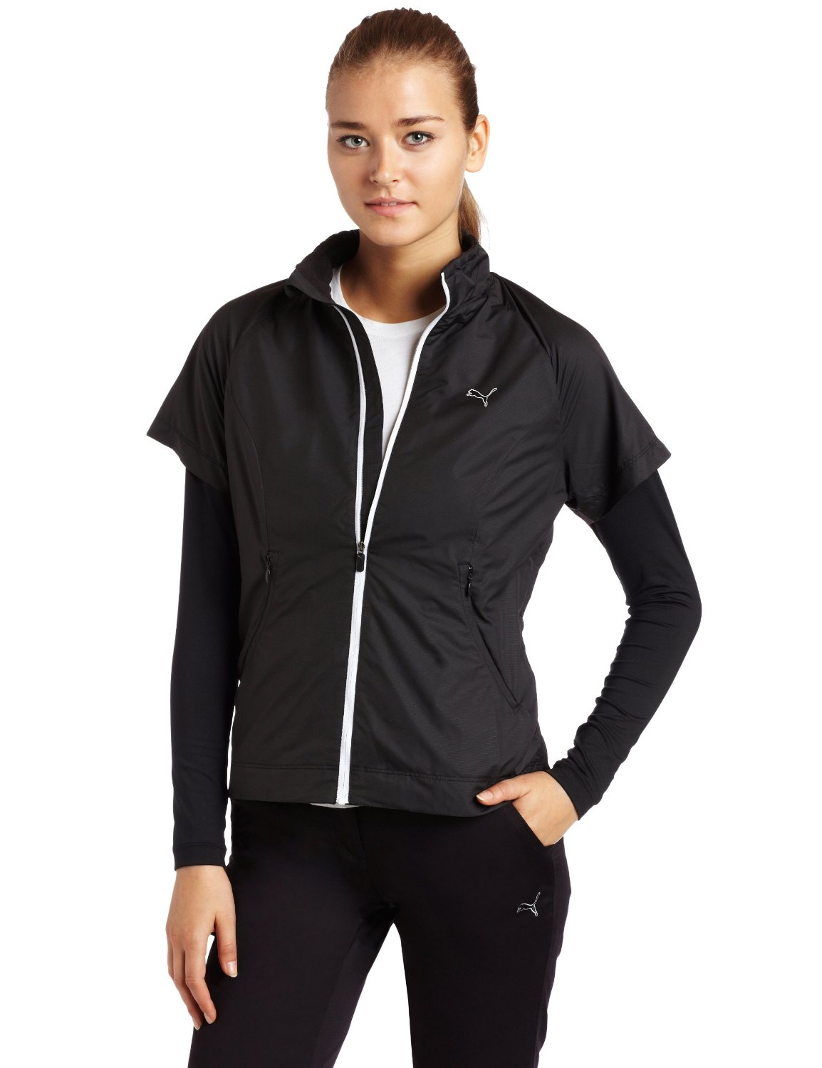 Womens Puma Golf Wind Jackets