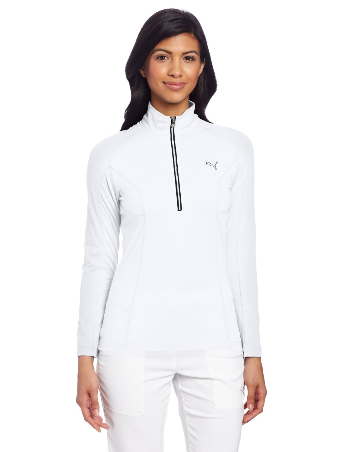 Womens Puma Long Sleeve Golf Tops