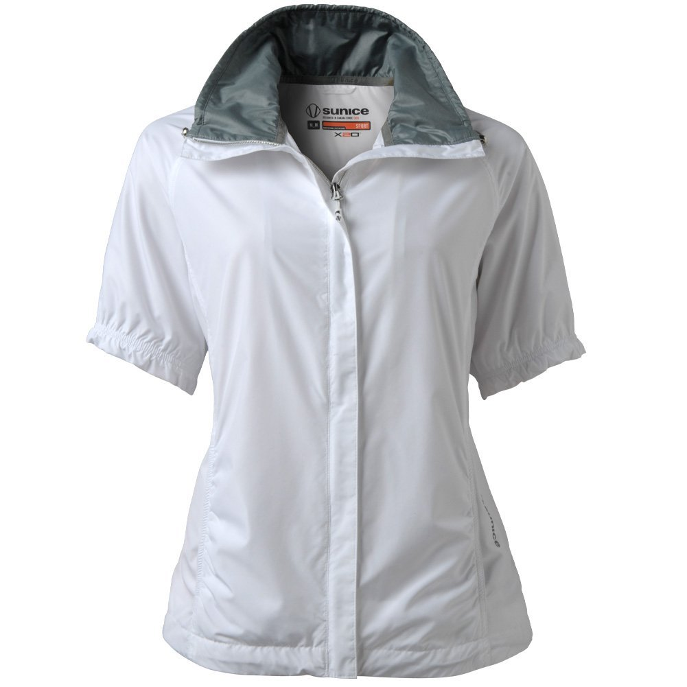 Womens Sunice Cora Short Sleeve Golf Jackets